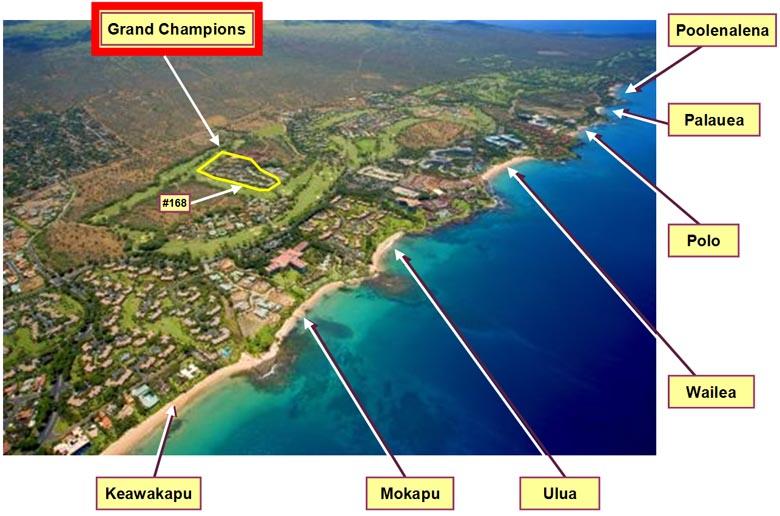 Wailea And Makena Beaches Aerial Photo Guide